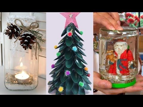 DIY ROOM DECOR! 15 DIY Projects for Christmas & Winter! Decorating ideas for a Frozen Room - YouTube