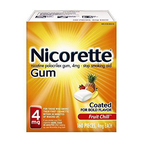 #Nicorette fruit chill gum helps calm your withdrawal symptoms when you're trying to quit smoking. when you stop smoking, the sudden removal of nicotine from you...