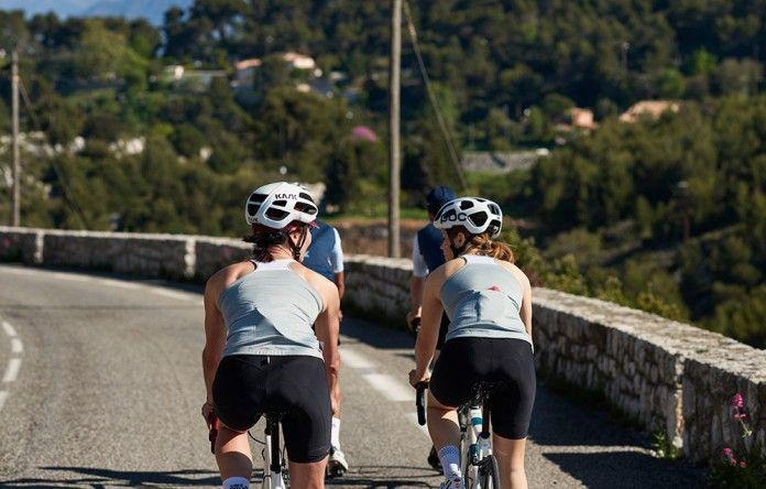Maillot Cycliste Femme Sans Manche Carmelle   Café du Cycliste