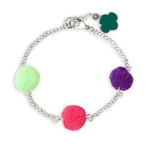 Girl Scout Pom Pom Bracelet
