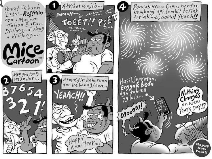 Mice Cartoon, Kompas Minggu 03 Januari 2016: Selamat Tahun Baru