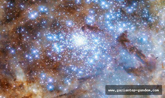 Hubble uzay teleskobu 9 'canavar' yıldız görüntüledi