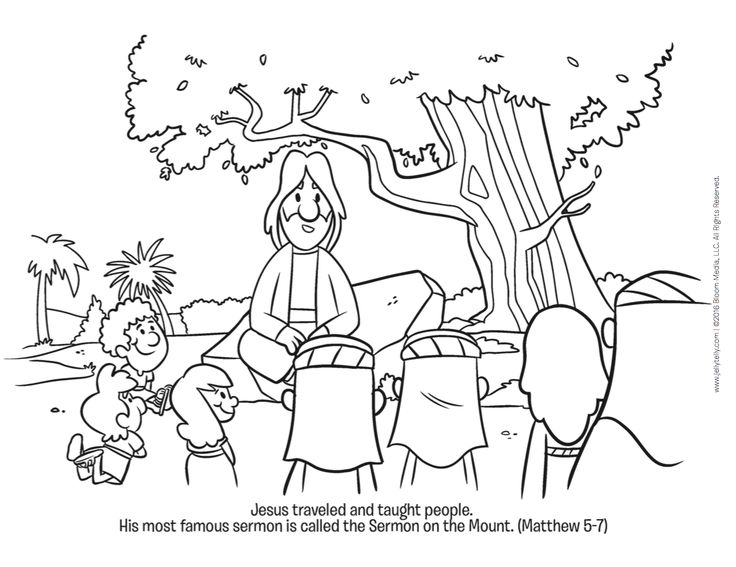 Jesus taught some important lessons at the Sermon on the