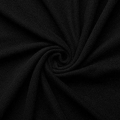Nelly - Kaschmir Wolle Mantel Wollstoff Meterware (schwarz)