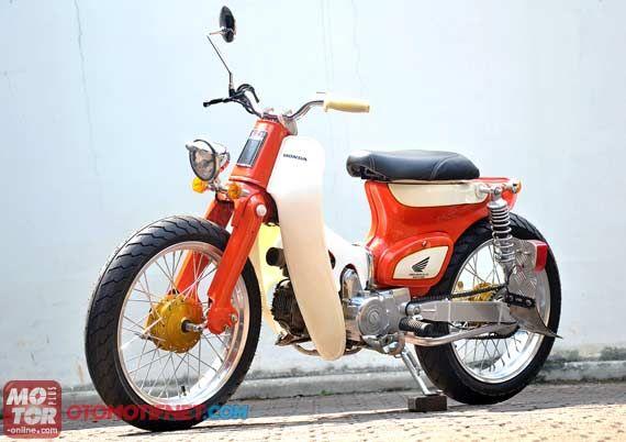 Honda C70, Restorasi Jadi Minimalis