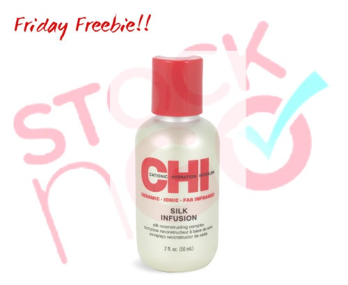 "Happy Friday!!! Starting today, every Friday Stockn'Go will choose a product from our list of best sellers to give away to one of our Facebook fans! The contest will run until midnight each Friday and the winner will be chosen at random and  announced on Monday.    This weeks Friday Freebie is Chi Silk Infusion, one of our most popular items. To enter to win ""Like"" us on Facebook, ""like"" the post and leave a comment below telling us why YOU love Chi Silk Infusion."