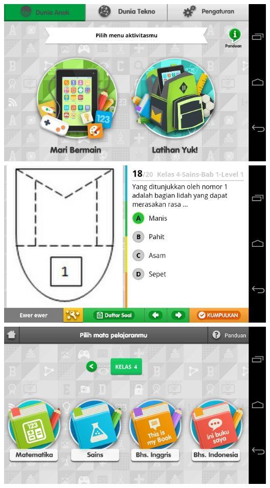 Anak Cerdas - Aplikasi Android Khusus Untuk Anak-Anak Indonesia