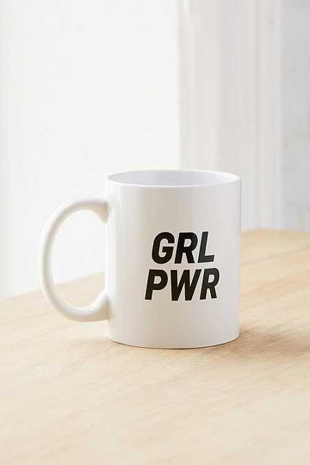 Girl Power Graphic Mug