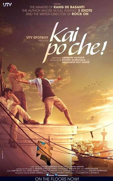 Critics' review: Kai Po Che deserves a standing ovation #Bollywood #Movies #KaiPoChe