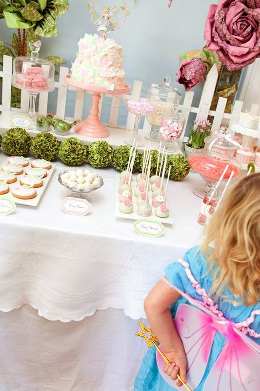 Fairy party ideas #fairy #birthday #party #ideas