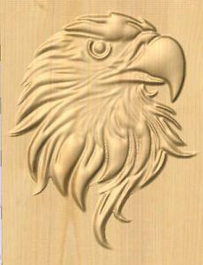 Uniquerc80@yahoo.com Beautiful carved eagle GCODE for CNC machine.
