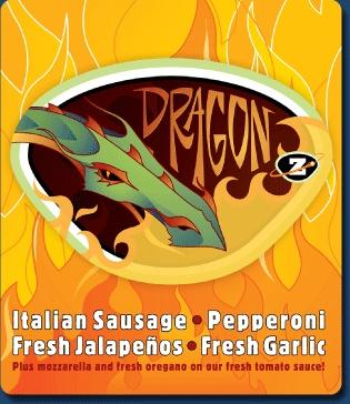 Zeeks pizza no. 2. Dragon