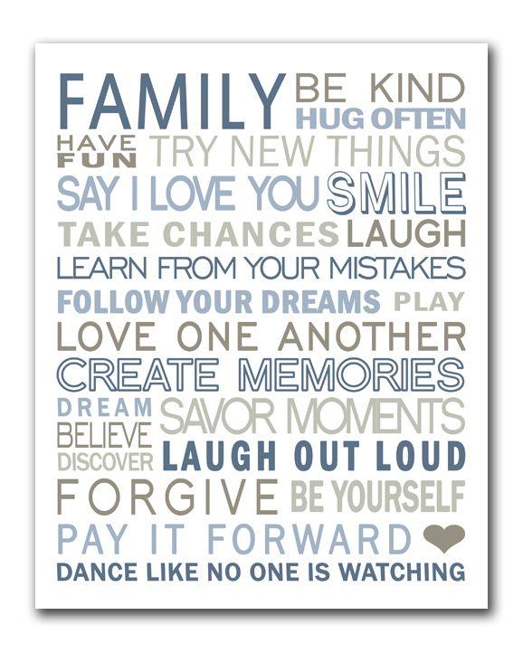 family ( free printable)