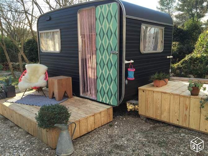 "Caravane de jardin ""Guest House"" Caravaning Gard - leboncoin.fr"