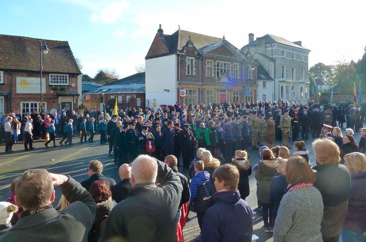 Remembrance Day, Leighton Buzzard, Nov 2016