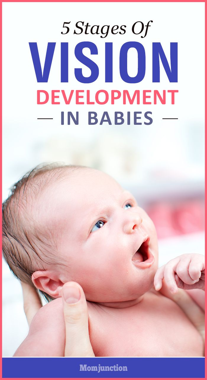 developing vision in newborns When can babies see one of the important physical milestones of a baby is the development of his eyesight that is blurry after birth and gradually develops with the advancing months the infant's vision development is extremely crucial as it paves the path for your little one to achieve many other milestones.