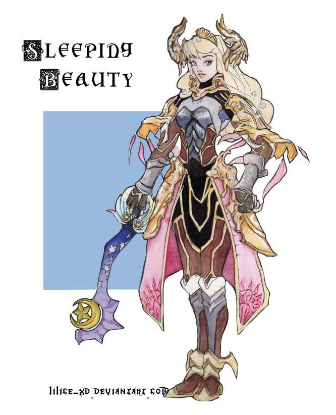 Aurora the sleeping beauty - KH by ~lilice-XD on deviantART