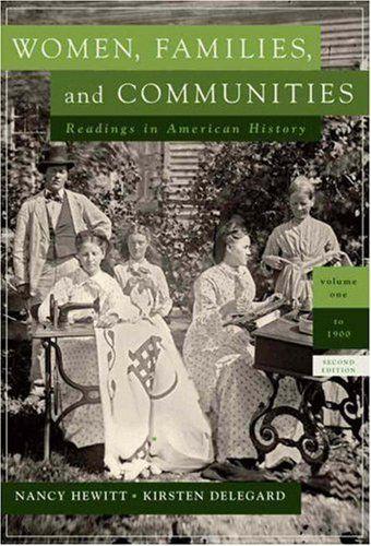 Women, Families and Communities by Nancy A. Hewitt