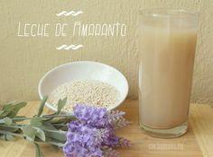 Leche de Amaranto casera Amaranto, agua, sal, vainilla y azúcar ( o miel, o sustitutos de azúcar etc)