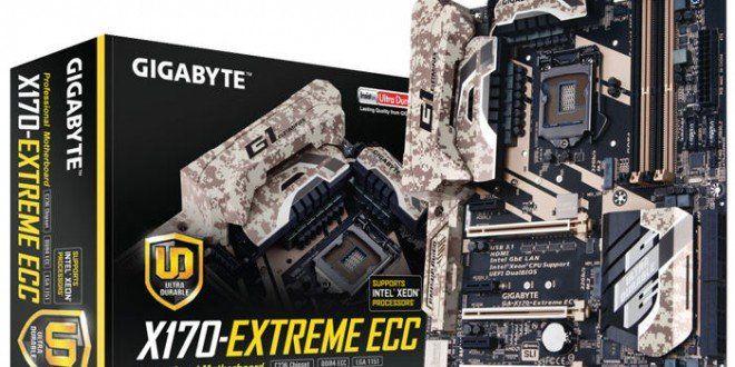 Sorteo de una placa base Gigabyte X170-EXTREME ECC