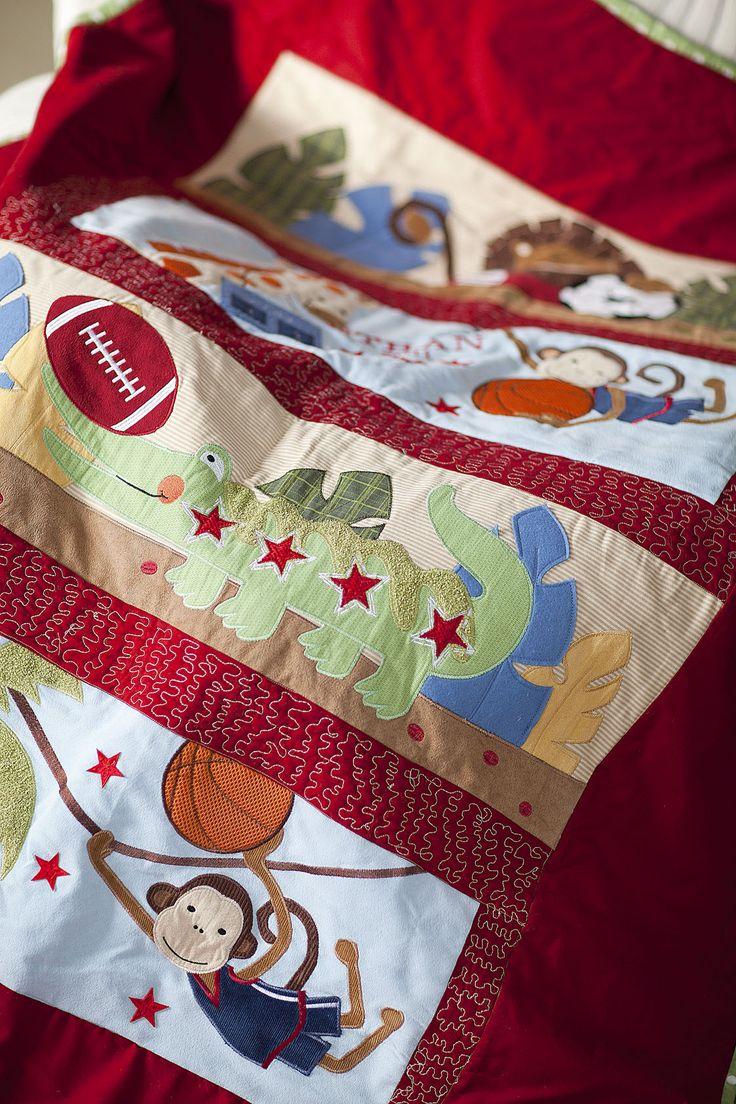 = tutorial = convert baby bumper quilt panels into a toddler quilt