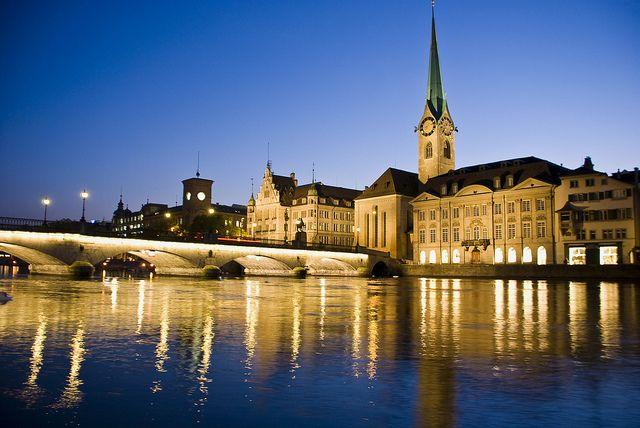 2. Zürich: Die Schweiz kann beim Ranking gleich zwei Mal punkten: Zürich, die Banken-Stadt an der Limmat, folgt Genf auf Rang zwei. (Bild: Zürich Tourismus/Flickr)