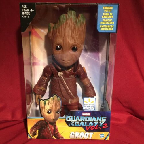 Marvel Guardians Of The Galaxy Vol 2 Walmart Exclusive 10 Amp 034 Ravager Outfit Groot Marvel Groot Guardians Of The Galaxy