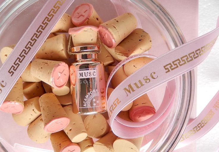 Musc Gold #muscgold #gold #sughero #cork #brunoacamporaprofumi