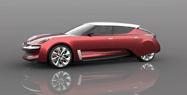 Designer Presta Homenagem Ao Citroën DS Com Conceito Repaginado Do Carro