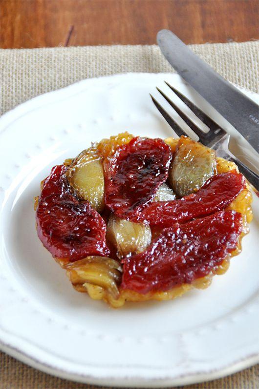 tatin tomates echalotes