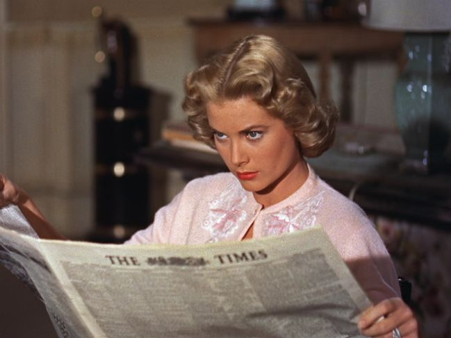 Grace Kelly in Alfred Hitchcock's 'Dial M for Murder', 1954.