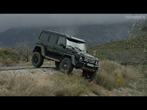 Emi & Koninos: 2015 Mercedes G500 4x4²