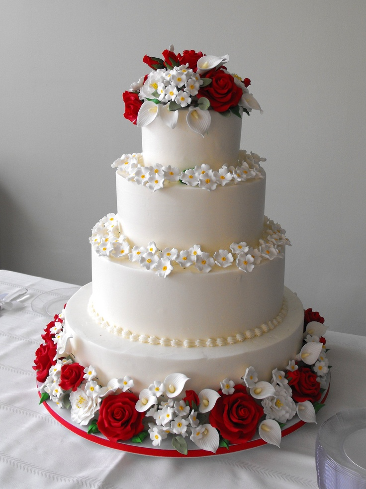 17 Best Images About Anniversary Cakes On Pinterest Ruby