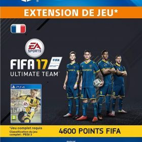 FIFA 17 Ultimate Team - 4.600 Points FIFA [Code Jeu PSN PS4 - Compte français] de Electronic Arts