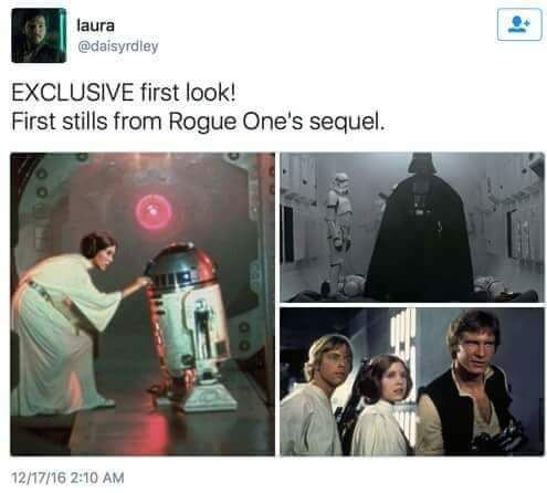 EXCLUSIVE pictures from Rogue One's Sequel!