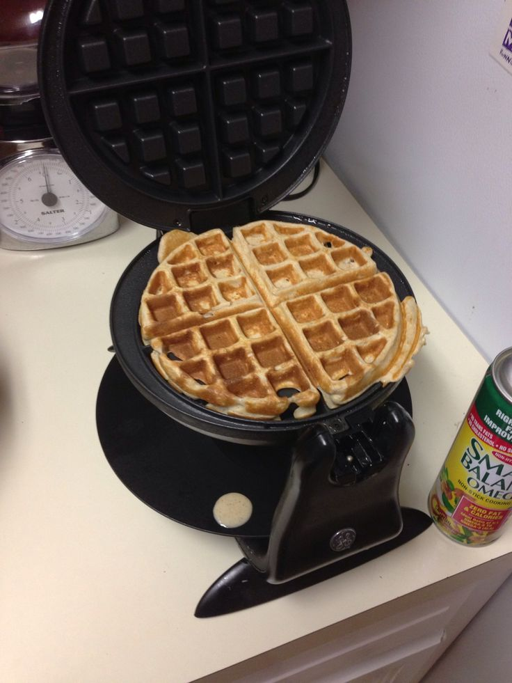 how to make waffles with baking soda