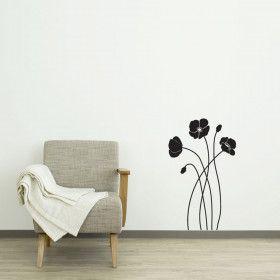 Valmuer wallsticker