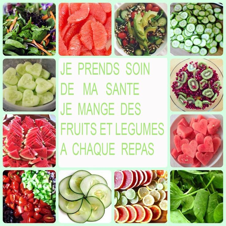 Mine d'infos sur les fruits légumes (les vitamines et minéraux qu'ils contiennent et les saisons)