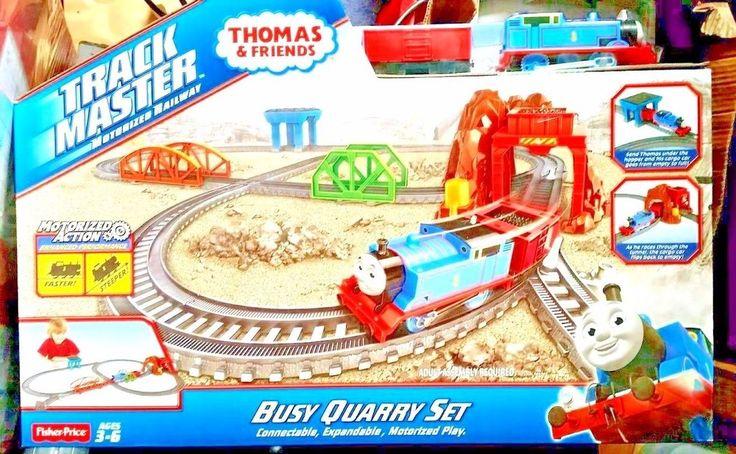 Thomas & Friends Track master Busy Quarry BOYS GIRLS TRAIN  HALF PRICE SALE £75 #FisherPrice