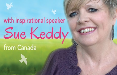 Speaker Sue Keddy from Canada. Read more about her at https://www.beautyforashes.co.za/2013-conference