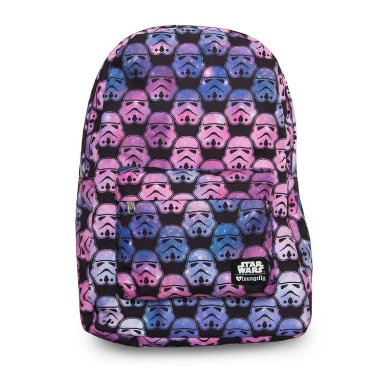 Loungefly x Star Wars Ombre Stormtrooper backpack ⭐️ Star Wars fashion ⭐️ Geek Fashion ⭐️ Star Wars Style ⭐️ Geek Chic ⭐️