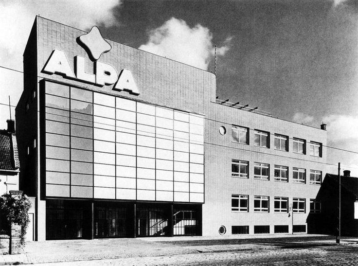 Alpa Co. Headquarters, Bohuslav Fuchs, Brno, Czechoslovakia 1936