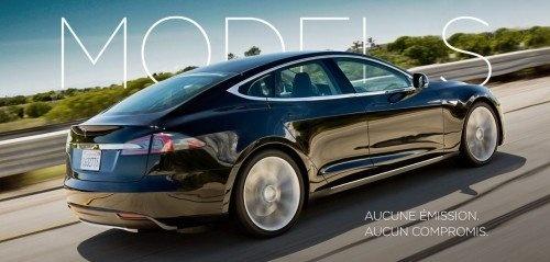 Voiture électrique : Le prix d\'achat de la Tesla Model S en France : 64760 euros