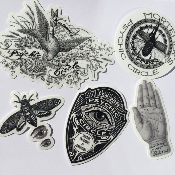 Hey, I found this really awesome Etsy listing at https://www.etsy.com/listing/220587531/psychic-circle-sticker-pack