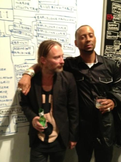 Thom Yorke and Madlib