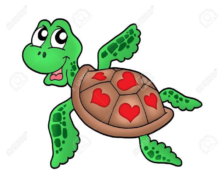 Cartoon Turtles Swimming images