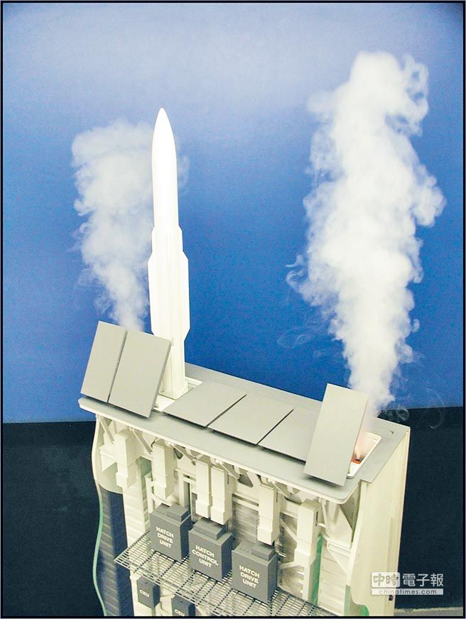 美國MK57型垂發系統。(取自環球網)