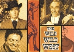 If you haven't seen The Wild Wild West tv show, you're missing out. It's like a steampunk James Bond in the old west.