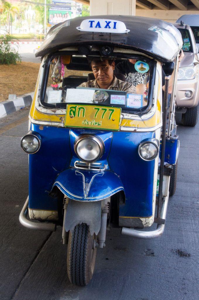 Chiang Mai tuk-tuk driver, Thailand