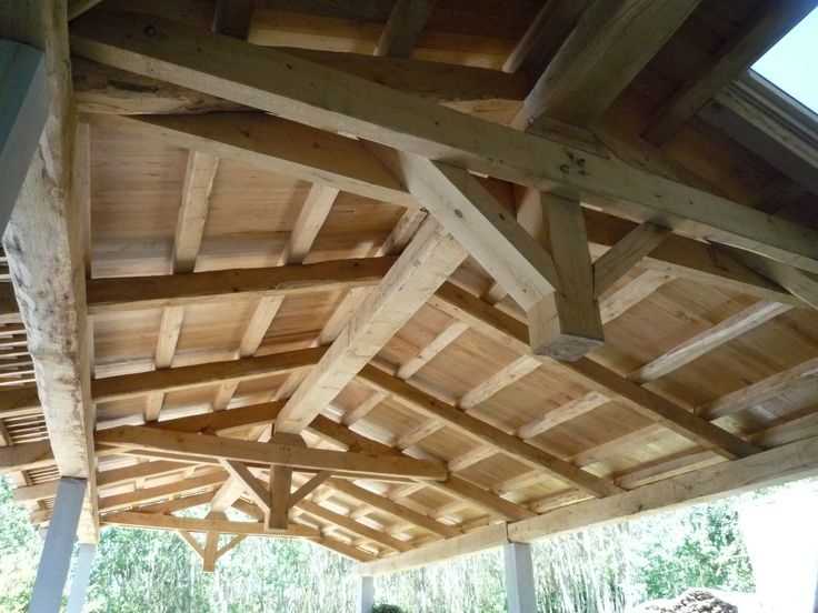 Struttura in legno massiccio